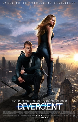 Divergent film poster